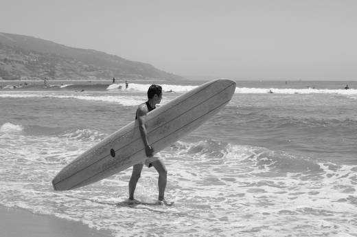 Surfer, Malibu Beach