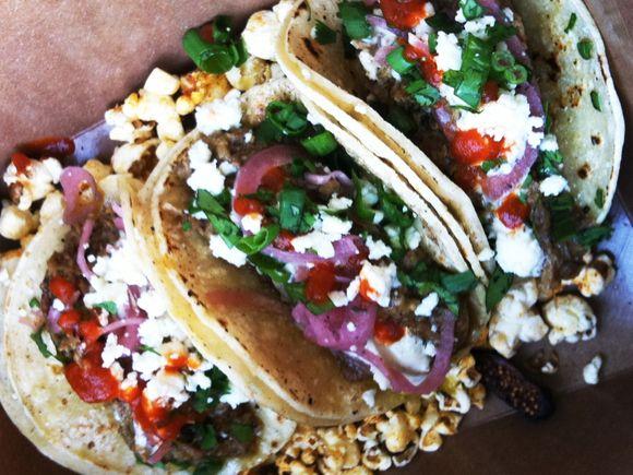 Pork Tacos on Sepulveda Blvd